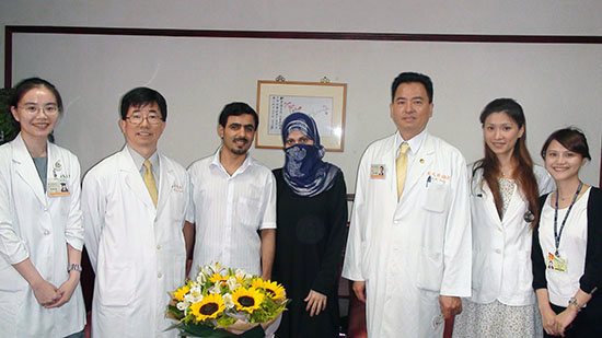 CGMH Cured Saudi Woman with Rare Gynecological Disease