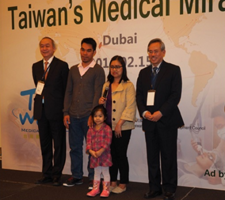 """I really appreciate Dr. Chao-Long Chen giving my daughter a new life. Iya's journey in Taiwan is un"