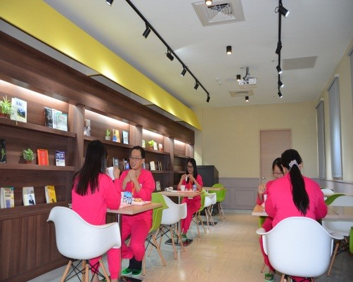 Dining area of Health Management Center